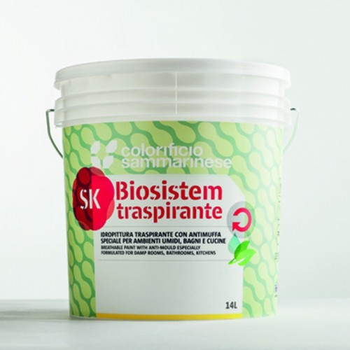 Biosistem Sk Traspirante Bianco Sammarinese
