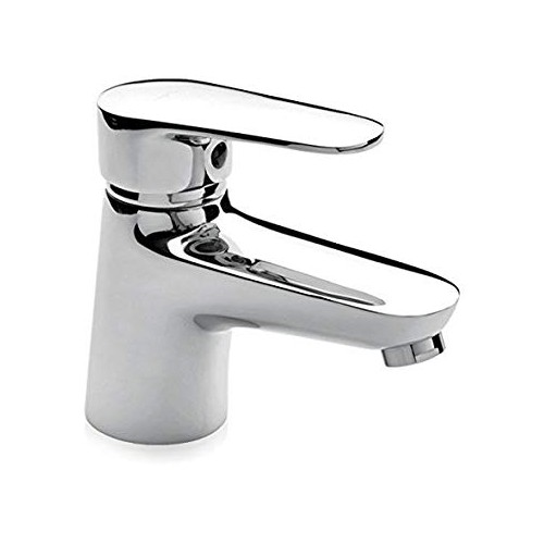 Miscelatore monocomando lavabo con scarico automatico.